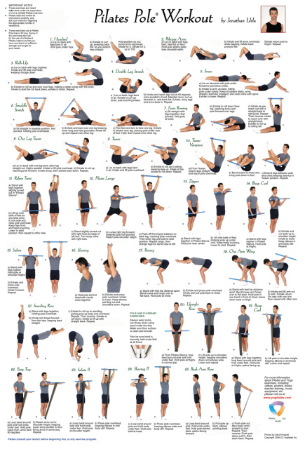 Pilates Exercises With Names